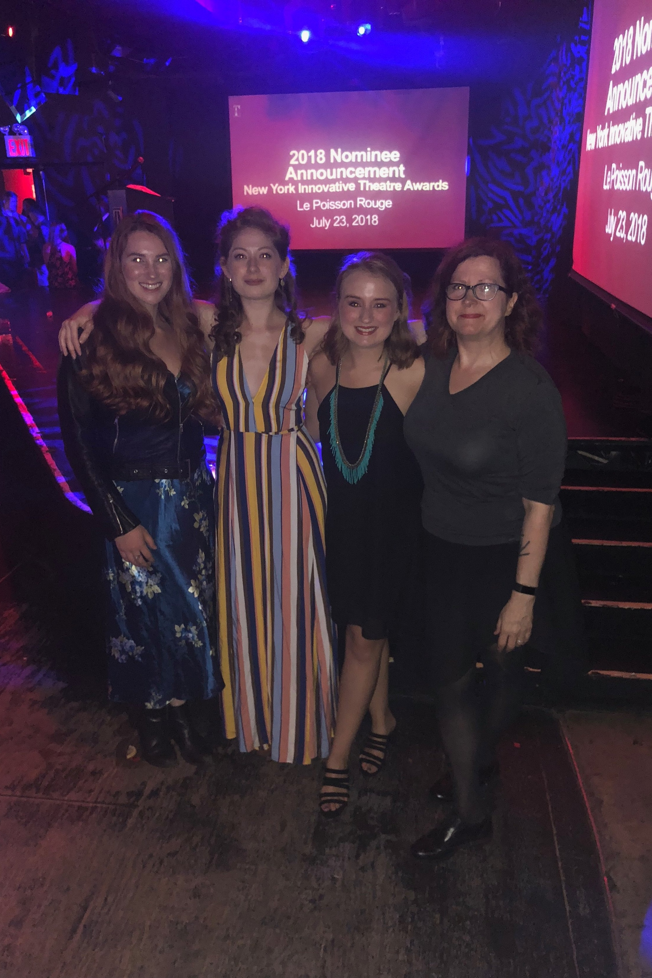 2018 New York Innovative Theatre Awards Announcement Party
