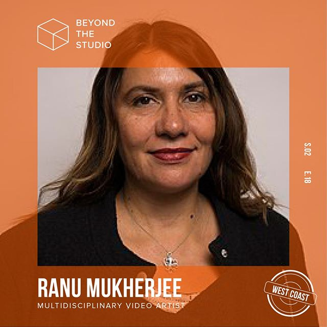 💫 We're back with another interview from Beyond the Studio: West Coast Edition featuring Bay Area based multidisciplinary artist @ranumukherjee! Ranu talks balance, building career through community, and working with museums and galleries. Our conversation was so in-depth that we split it up into two parts! ✌️ Part I is now live in #itunes, and Part II will air next week! 🎧