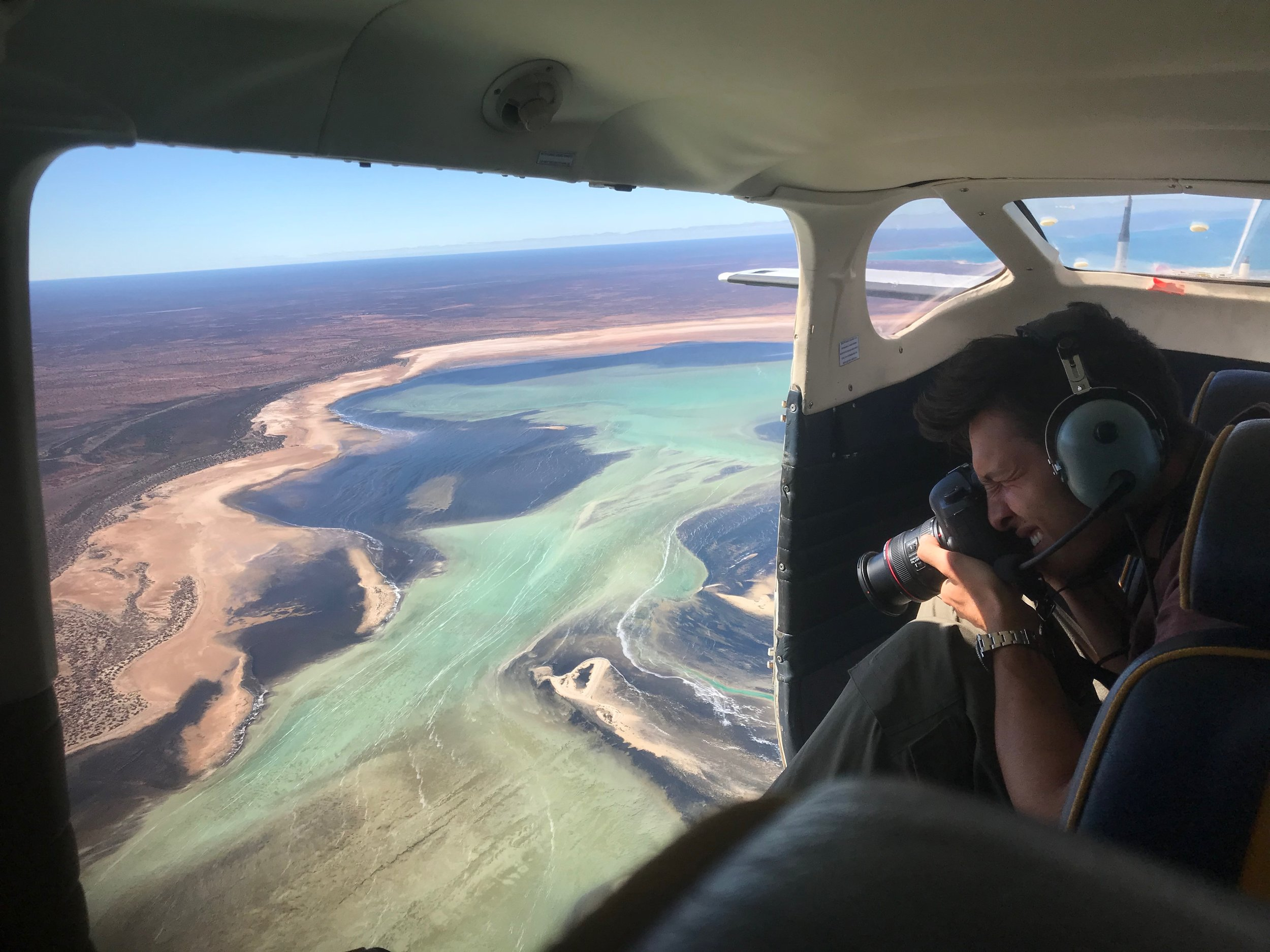 Aerial Photography Shark Bay Aviation