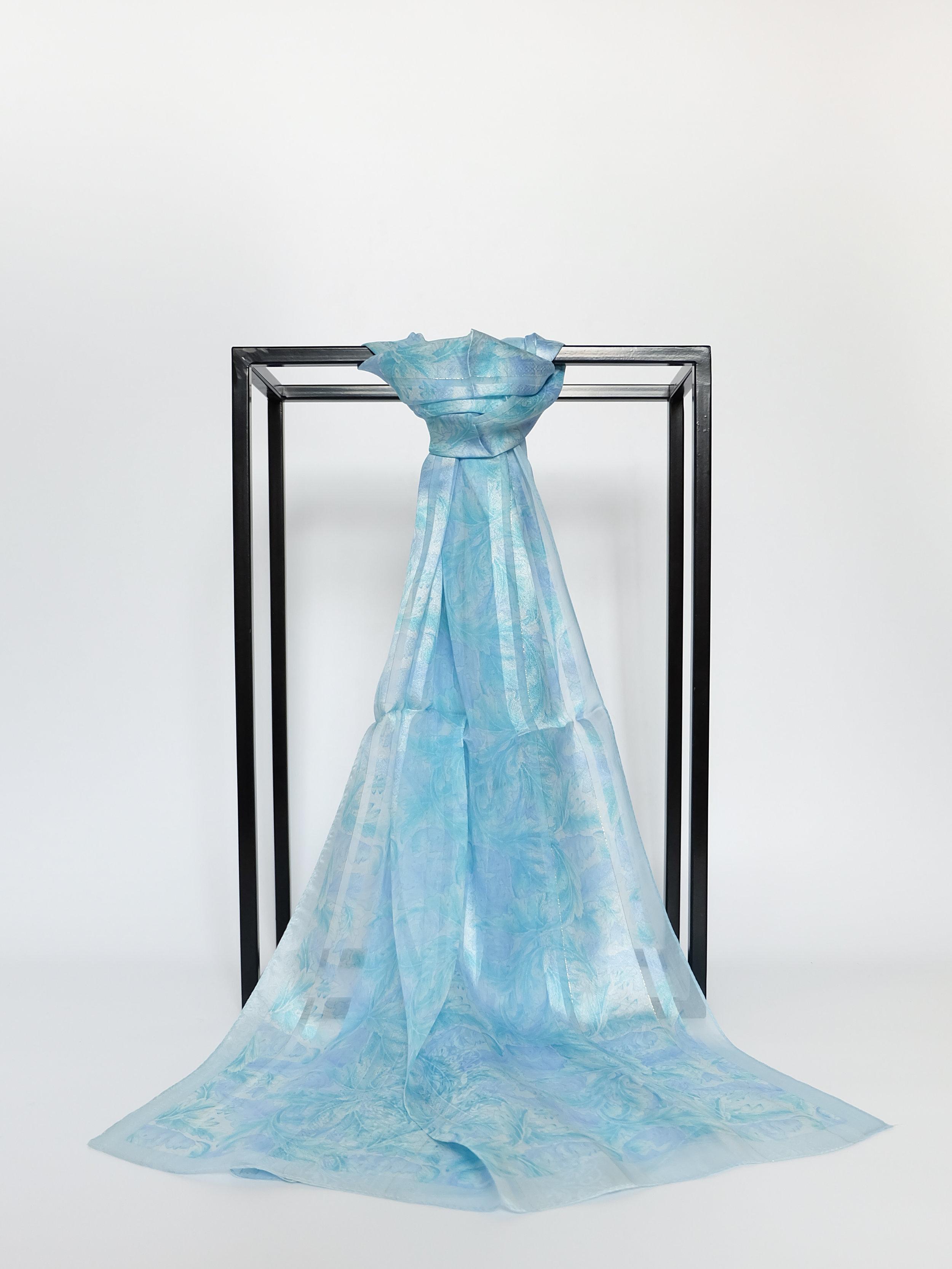 Gentle Reflection (Blue) - 175x55cm