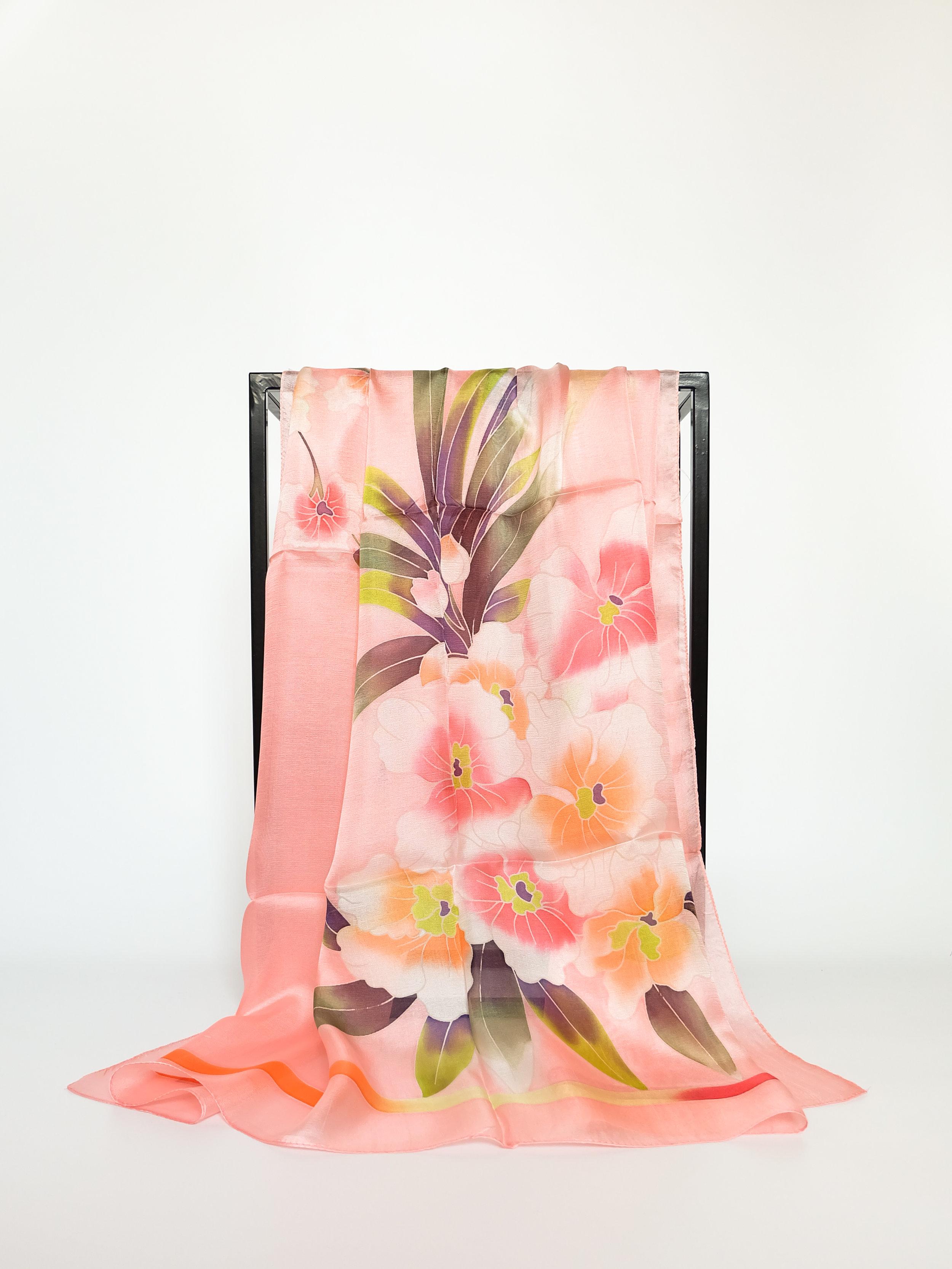 Ink Deco (Pink) - 110x110cm