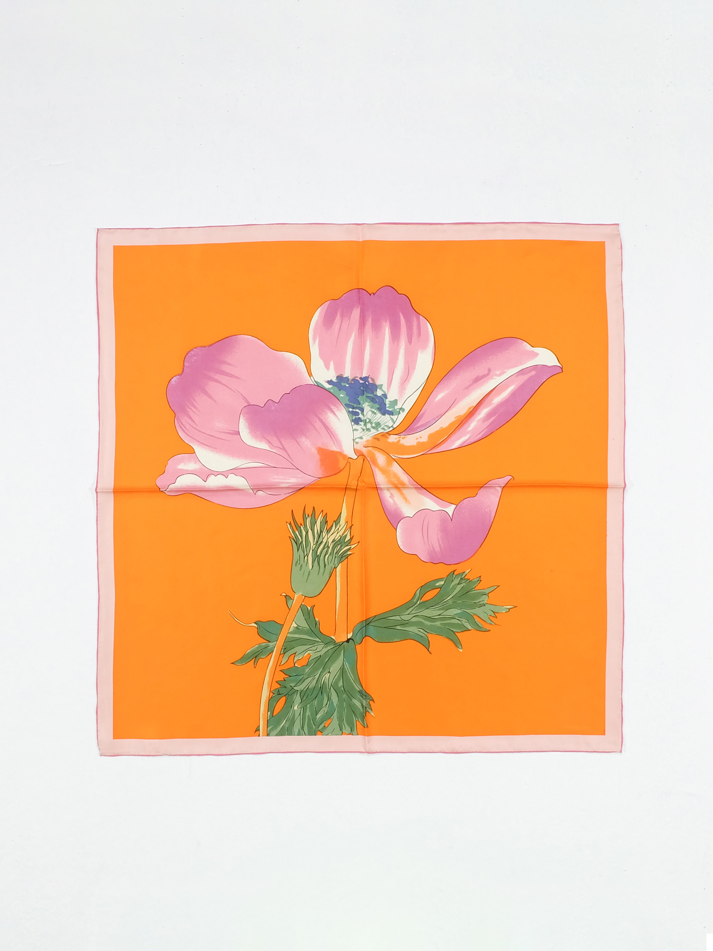 Soaking in the Day (Orange) - 66x66cm