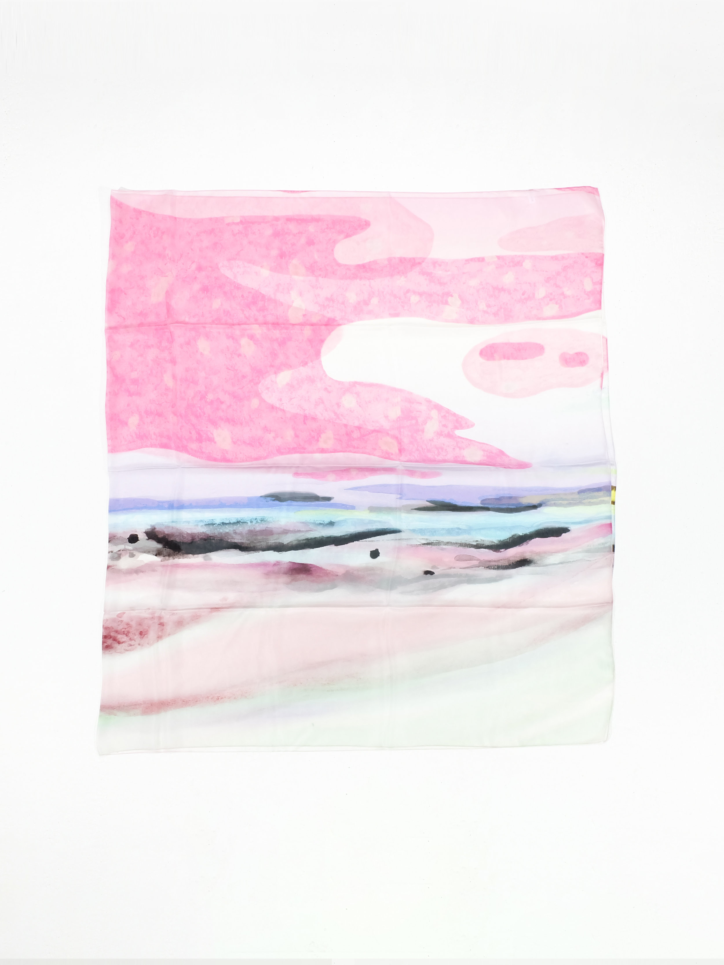 Waning of Winter (Pink) - 196x112cm