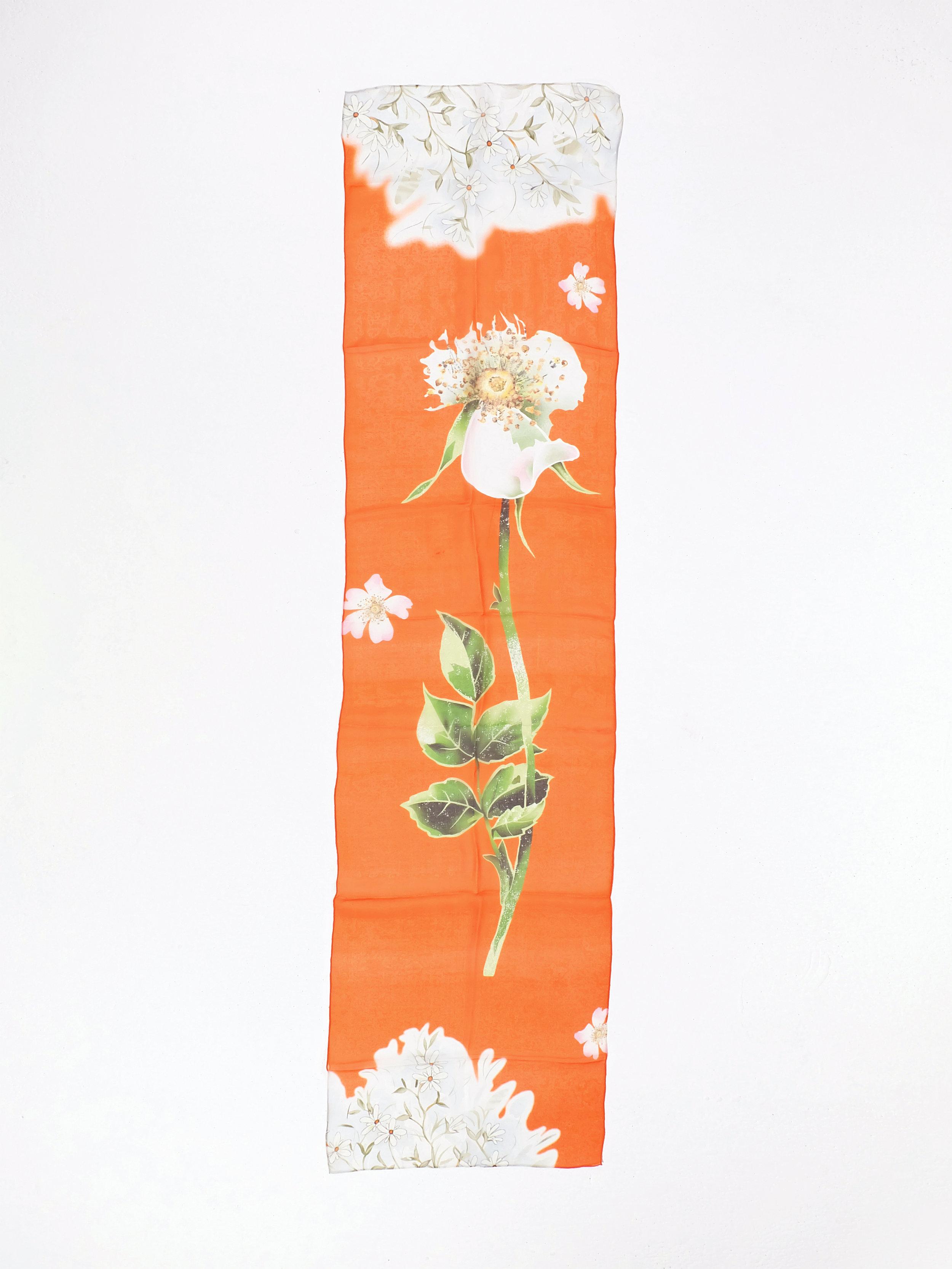First Blooms (Orange) - 182x40cm