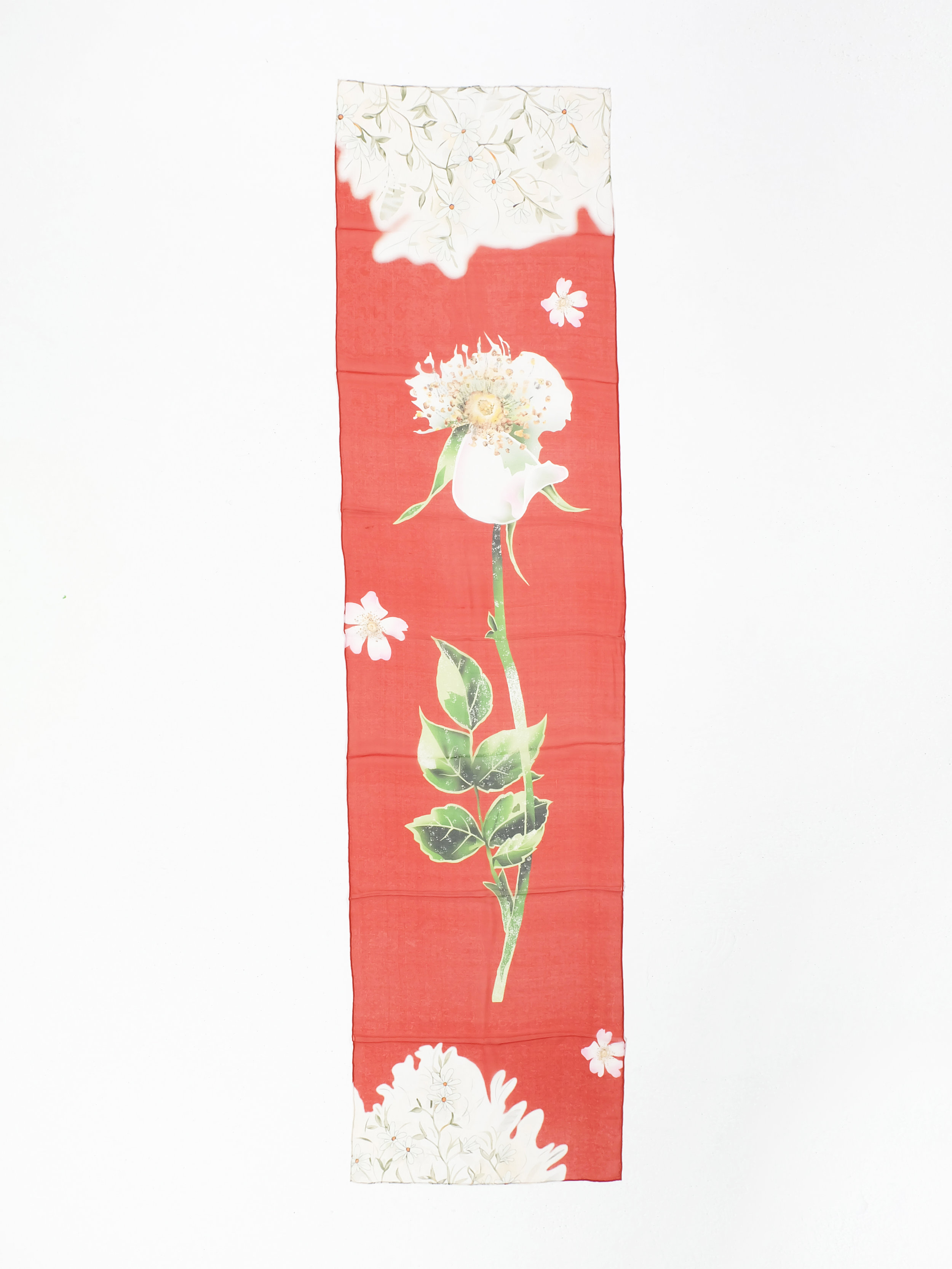 First Blooms (Red) - 182x40cm