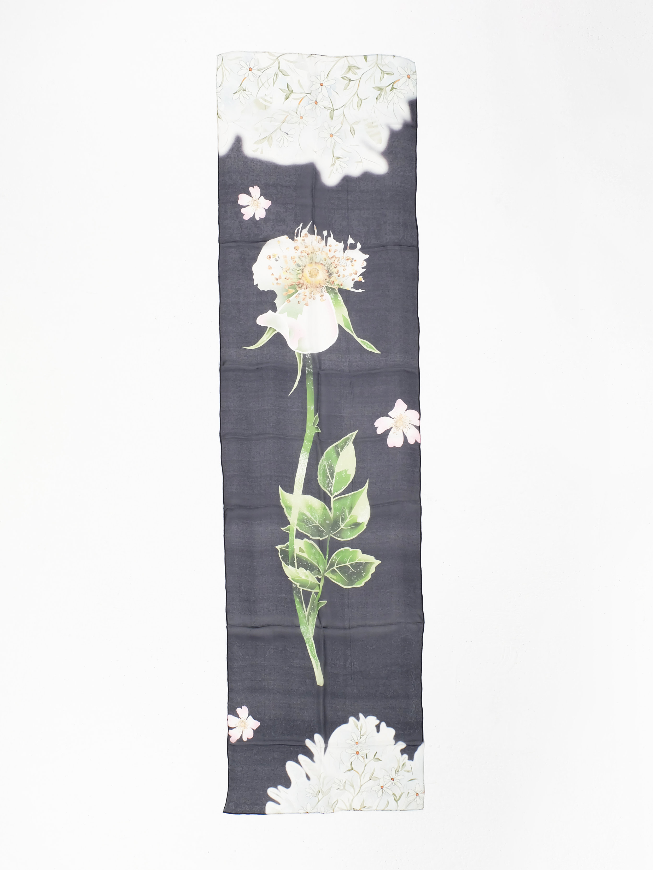 First Blooms (Black) - 182x40cm