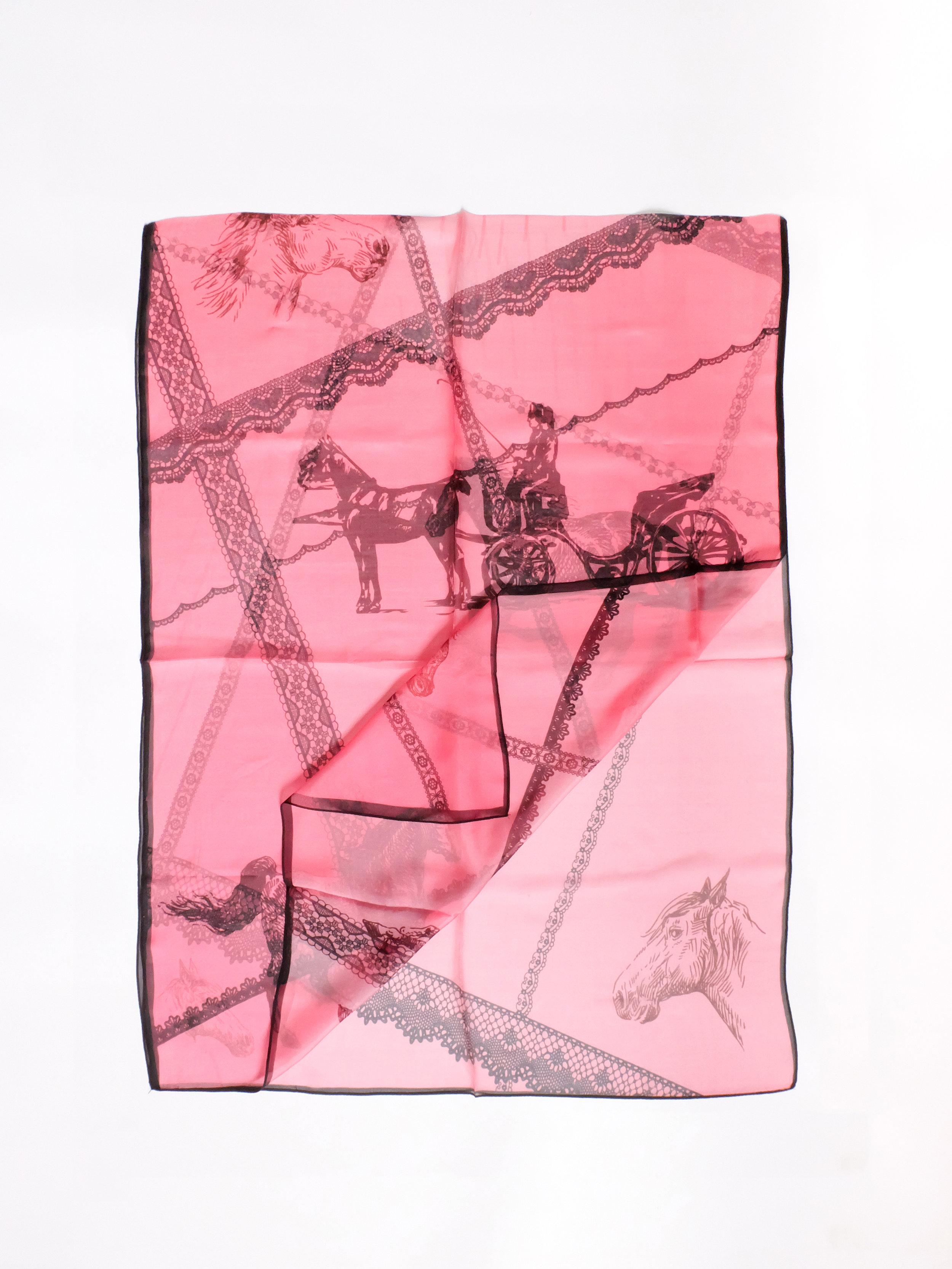 Equine Pomp (Pink) -  175x65cm