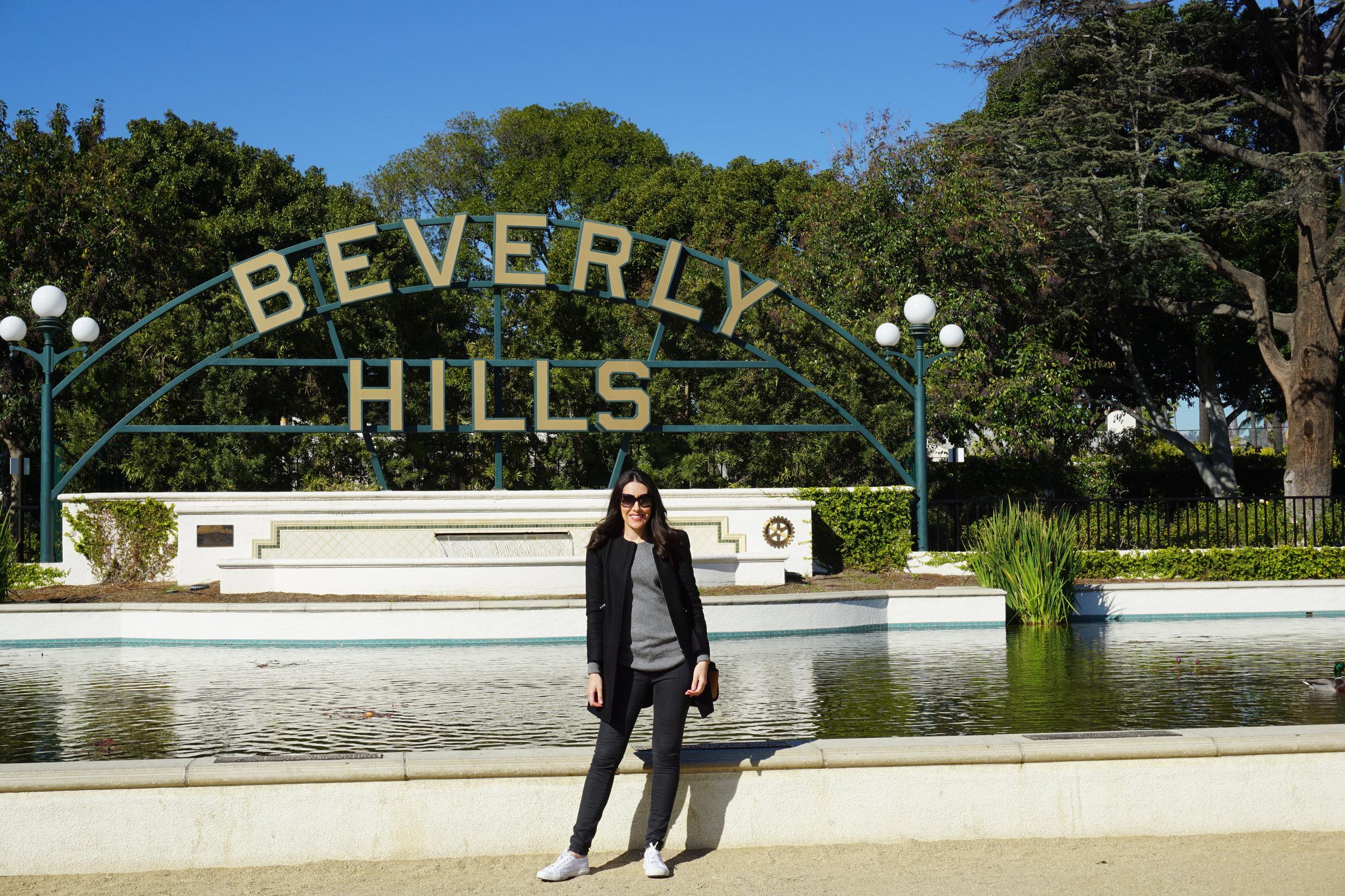Source: Lisa Raciti // Beverly Hills sign