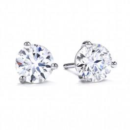 Trewarne Diamond Stud Earrings - Hearts on Fire
