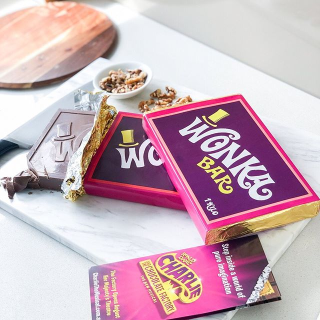Living every chocolate lovers dream right now with these giant 1kg Wonka Bars from @treatsfromhome @shopcollins234! 🍫🍫. . To celebrate Charlie & The Chocolate Factory - the new musical,  Treats From Home at Collins234 Melbourne has special edition 100g Wonka Bars available in-store now, along with plenty of other chocolatey goodies! 😍 . P.S. Charlie & The Chocolate Factory is now playing at Melbourne's Her Majesty's Theatre, and (Golden) tickets are selling fast! Have you seen it yet?! 🎟🍫 . #shopcollins234 #ad #collins234 #treatsfromhome #wonkabars #willywonka #willywonkaandthechocolatefactory #charlieandthechocolatefactory #melbourne #visitmelbourne #whatsonmelbourne #musical #melbournemusical #hermajestystheatre #melbournespring #chocolate #goldenticket #CharlieAU #melbourneblogger #aussieblogger #gdaygirl