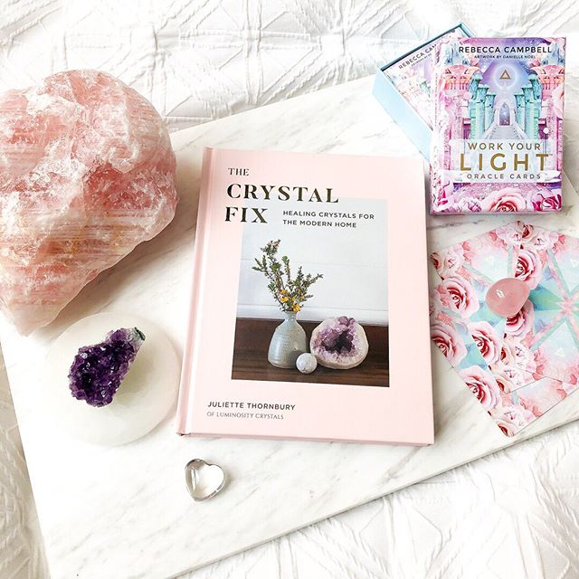 Crystal healing 💎🔮 Slowly introducing some beautiful crystals to my home! // Was excited to find so many great books on the subject @dymocks234 @shopcollins234, along with these gorgeous oracle cards 💕✨ . Do you have any crystals in your home? What should I add next to my collection? . Swipe 👉🏼 for some Instagram vs Reality with kitty shots, which I've called Crystals + Pearl 😻 ____ #shopcollins234 #ad #collins234 #dymocksbooks #dymocks #melbourne #collinsstreet #visitmelbourne #melbourneblogger #aussieblogger #gdaygirl #crystal #crystals #oroclecards #crystalhealing #rosequartz #amethyst #clearquartz #quartz #flatlay #catsofinstagram #instacat #lifewithcats #kitty
