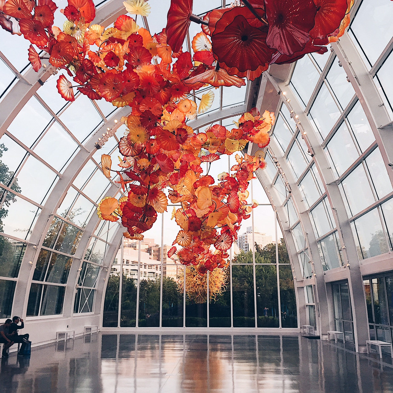 Chihuly Garden & Glass. Photo by Grace Niu Design