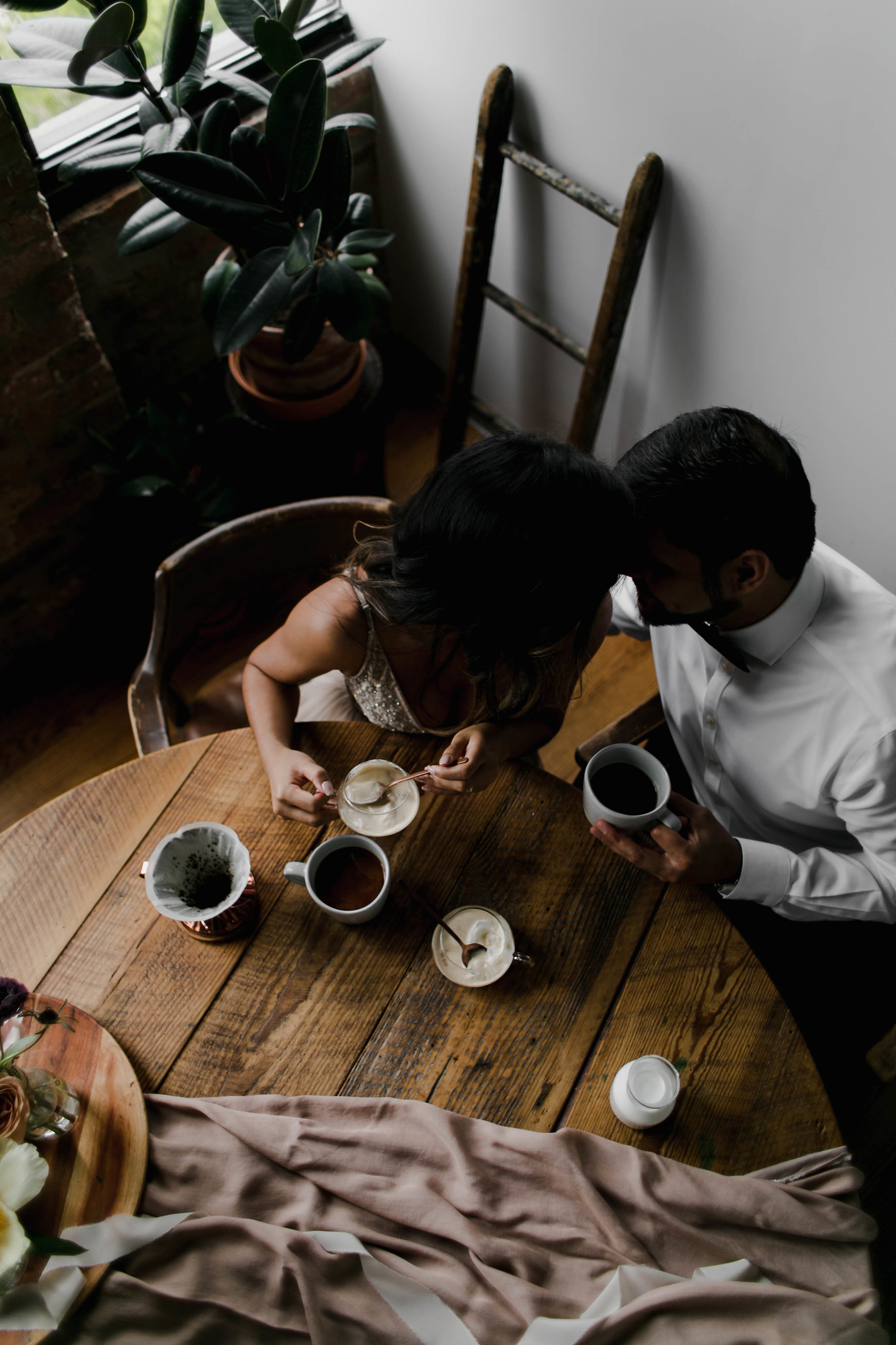 Photo by Melody Joy Co, Styling by All Dei Events, Coffee by Good Manner Coffee