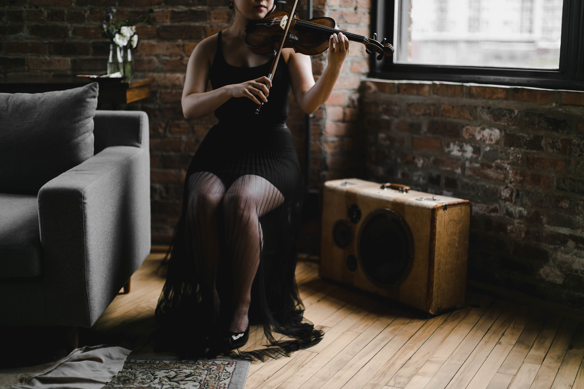 Photo by Melody Joy Co, Styling by All Dei Events, Violinist: Priscilla Suh