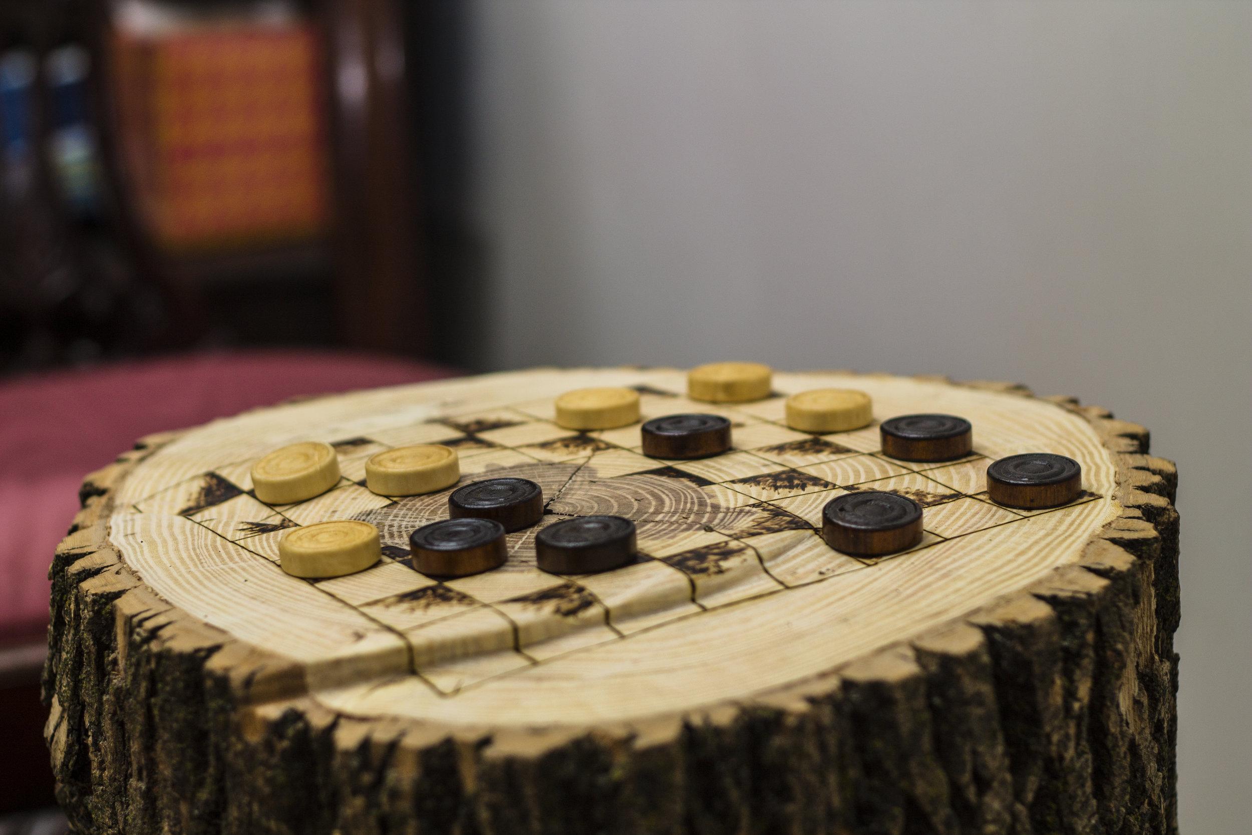 Stump Chess Board