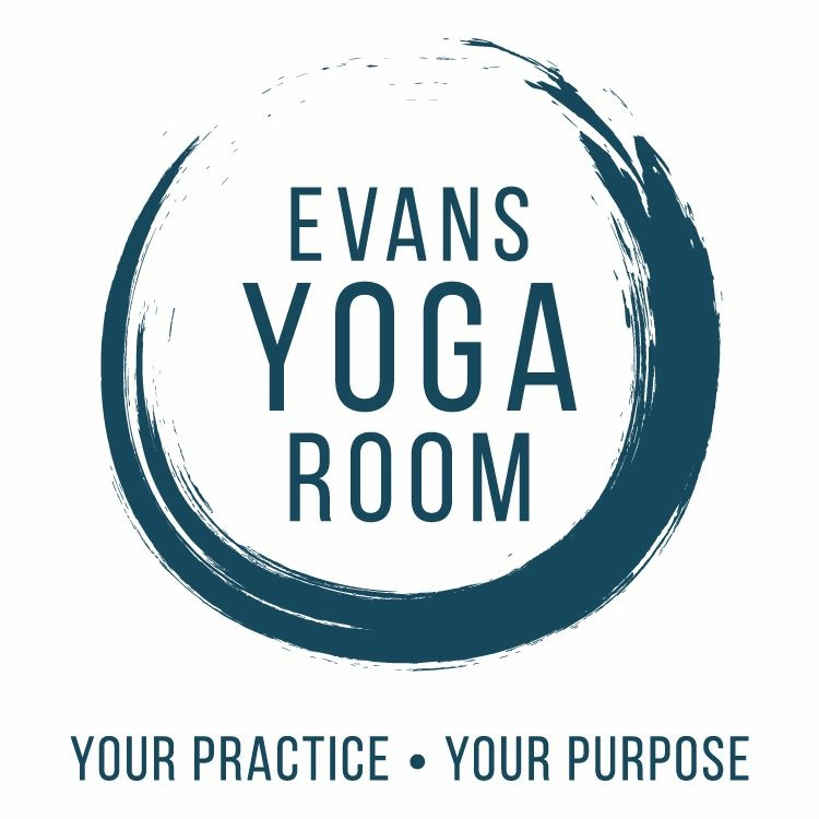 All yoga services are offered at  Evans Yoga Room.