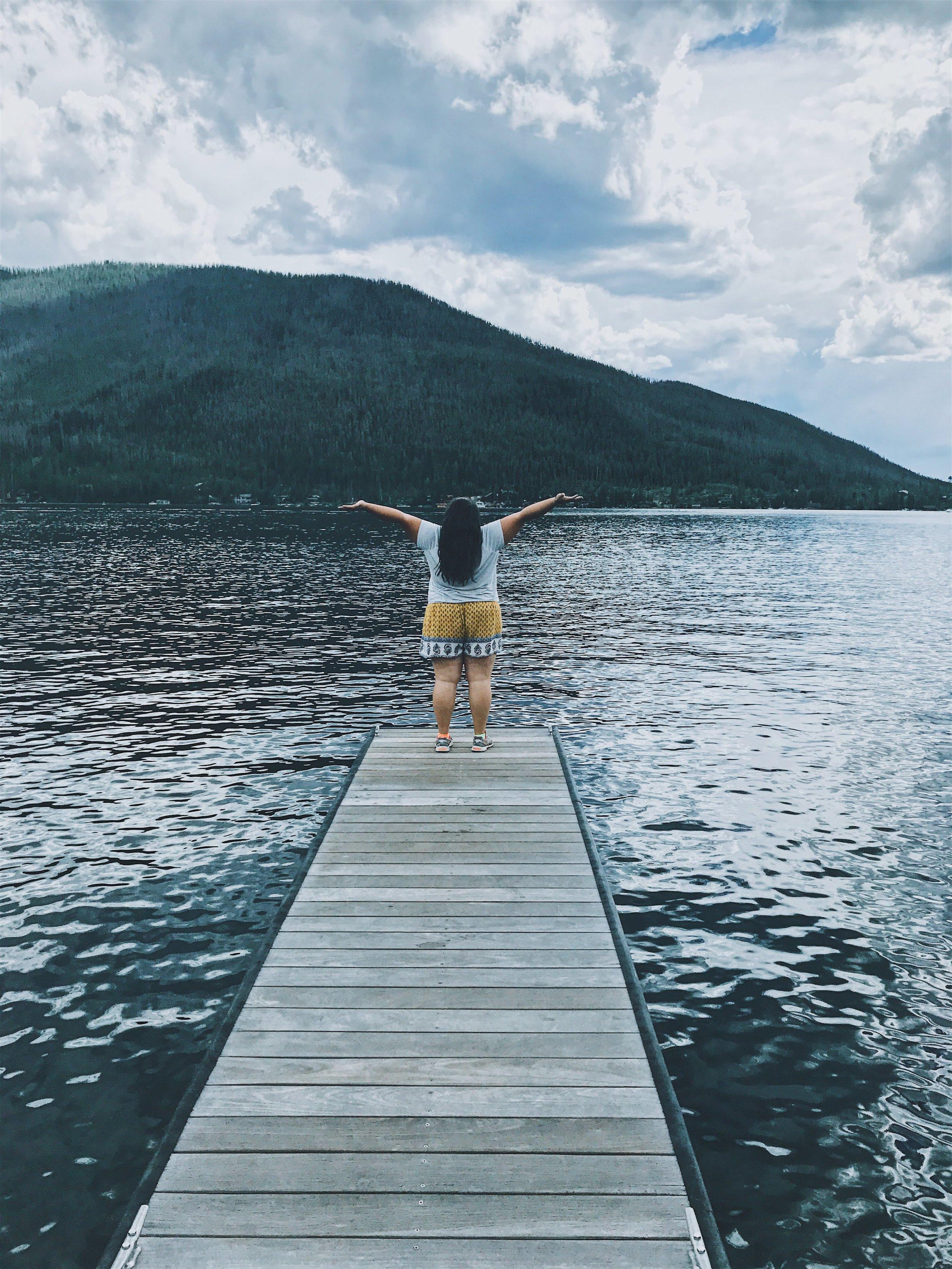 me at grand lake, Colorado