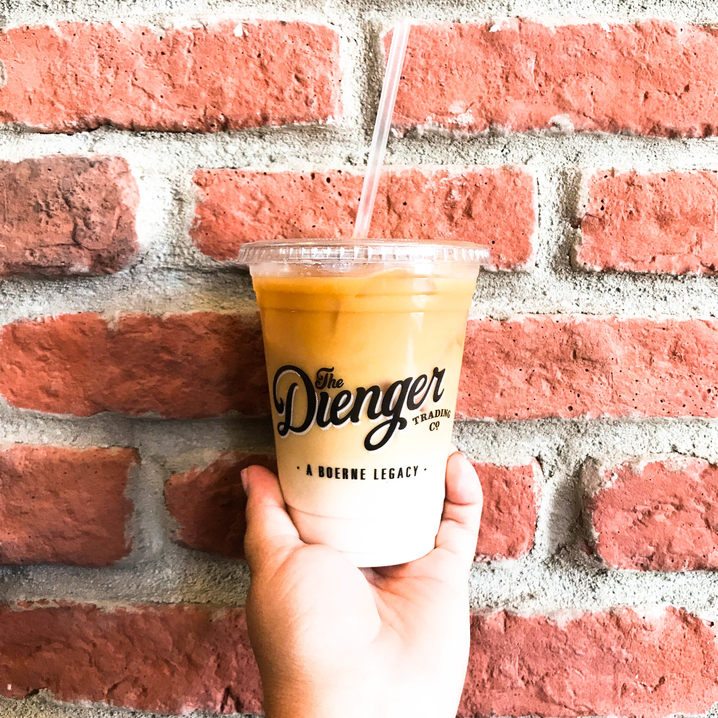 Iced Coffee from The Dienger Trading Company in Boerne, TX