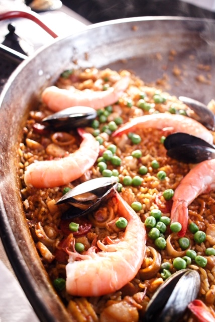 Paella from Toro Kitchen and Bar