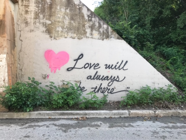 Love Will Always be There Mural in Olmos Park