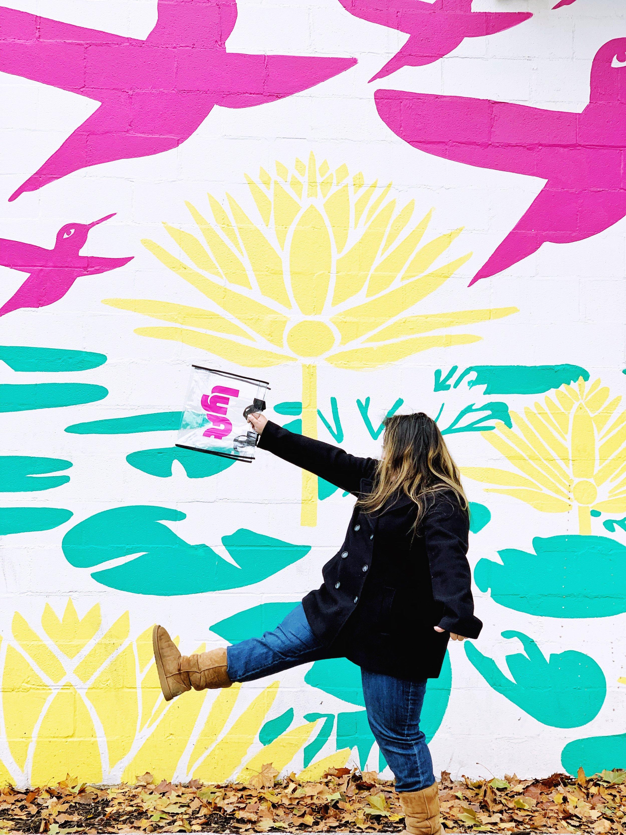 Mural in HemisFair Park