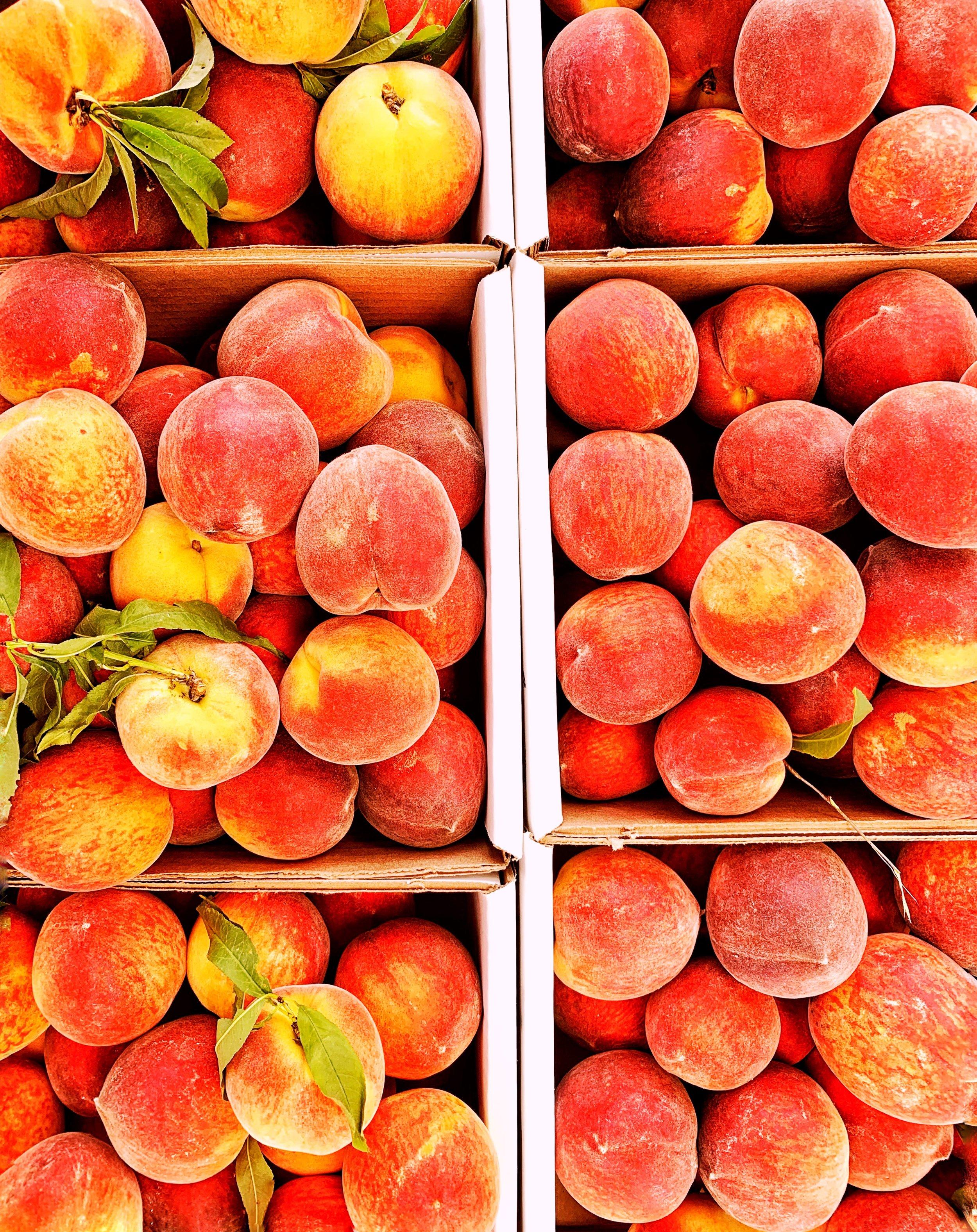 peaches from fredericksburg, tx