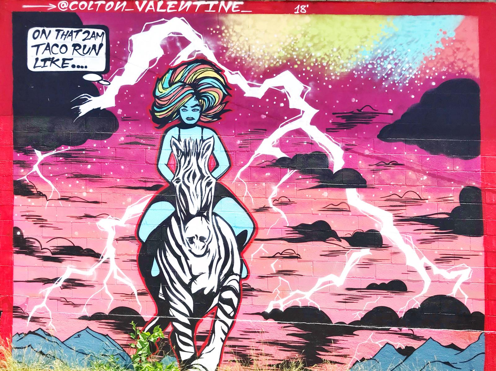 2am Taco Run by Colton Valentine