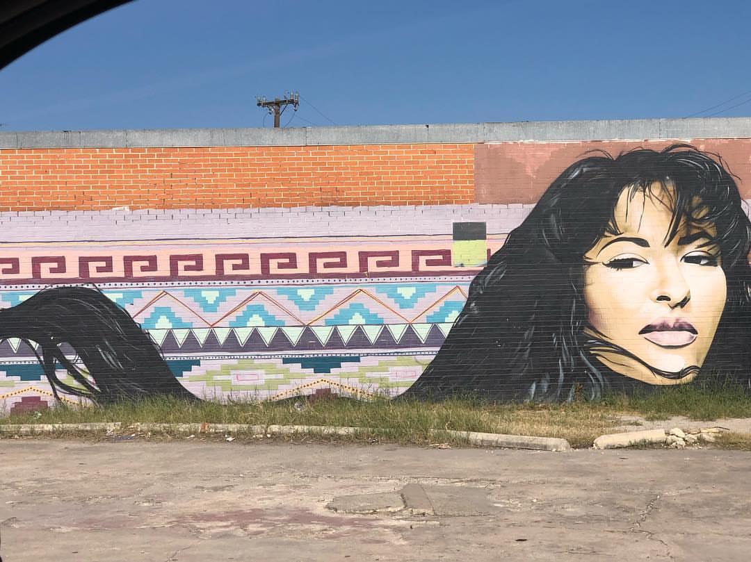 Selena Mural by Chris Montoya