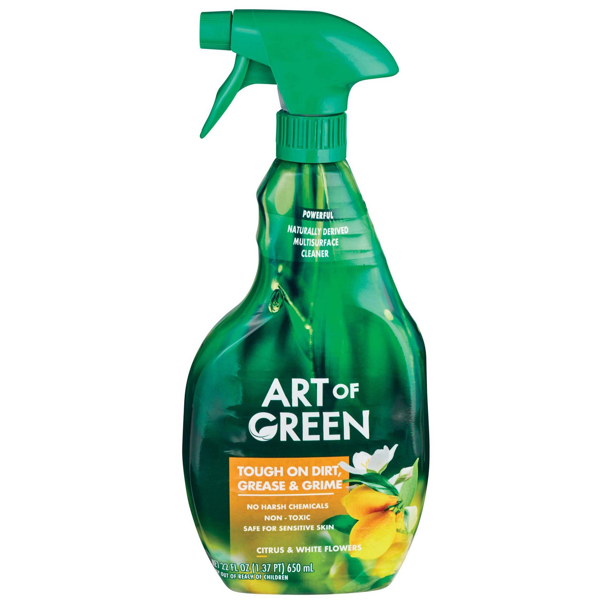 Art of Green Citrus & White Flowers Multi Purpose Cleaner Spray