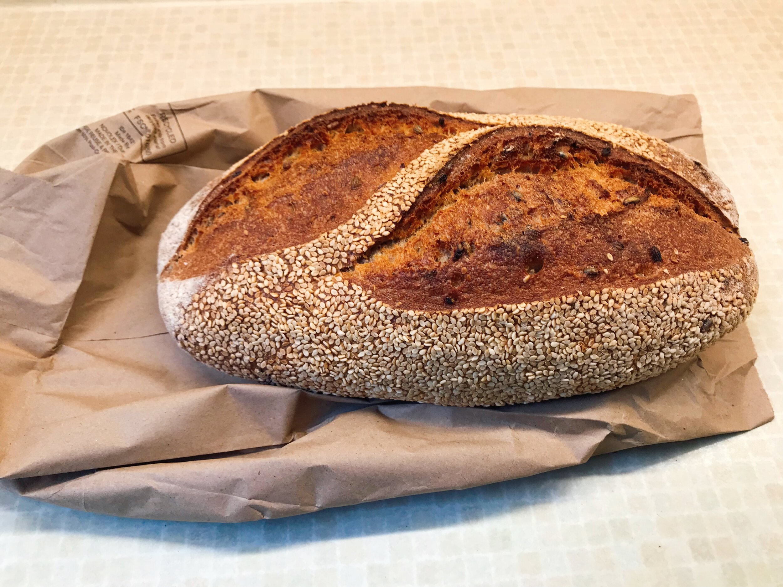 Here is the bread we used. I had to include a picture because it was SO delicious!!