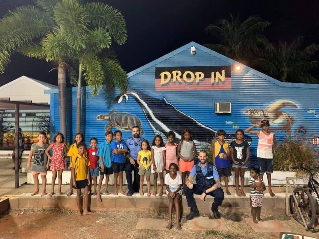 Team 1 chillin with the mob at Drop in tonight. It's critical we build these relationships with the Broome youth to shape the future of our community. Thanks for letting us hang out with you tonight.   This update came from Broome Police on Twitter