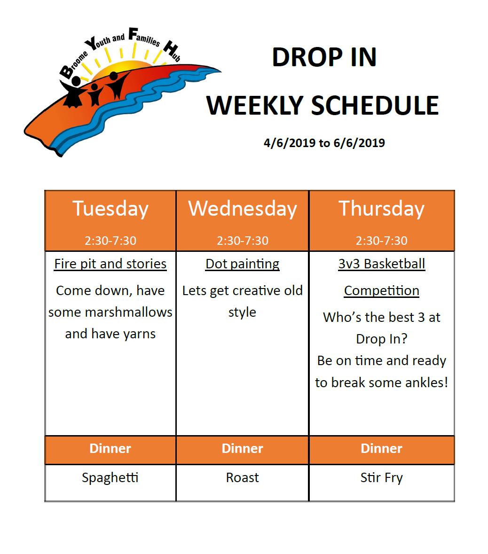 drop ni schedule this week.png
