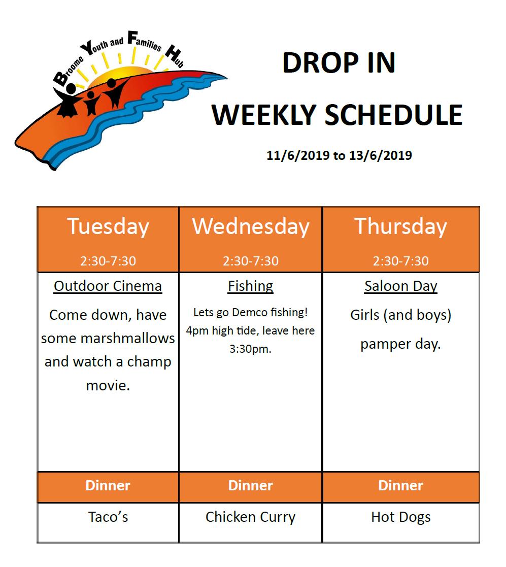 Drop In schedule, 11.6.19.png