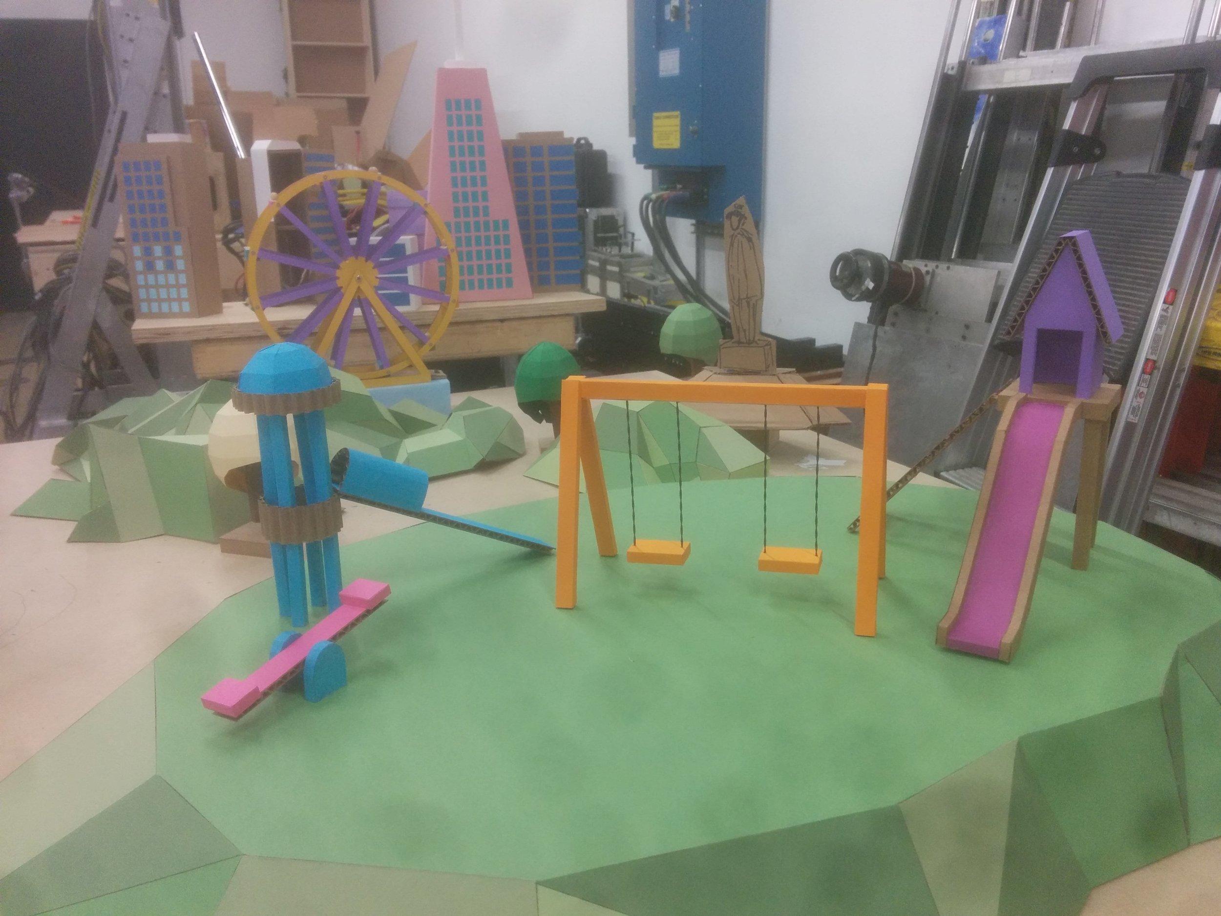 Final Playground elements.