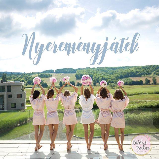 👰NYEREMÉNYJÁTÉK!👰 Egy esküvő minden nő életében hatalmas esemény. Érdemes már a készülődésre is nagy hangsúlyt fektetni, hogy minél emlékezetesebbé tegyük a nagy napot és az azt megelőző időszakot. Mi is szeretnénk hozzájárulni ehhez a csodához, ezért készültünk egy kis játékkal, aminek a végén kisorsolunk egy álomszép egyedi tervezésű készülődő köntöst!  Játékban való részvétel menete: 👑Likeold ezt a képet 👑Kövesd a Bride's Babes (@bridesbabes_project) 👑Taggeld be azt a barátnődet, akit a közelmúltban jegyeztek el, vagy már az esküvőjét tervezgeti!  Sorsolás: 2018. 09. 27 . 10:00  Ez a játék nem az Instagram által szervezett, illetve nem az Instagram által szponzorált tartalom. A szabályzatot itt találod: https://socialguru.hu/brides-babes-nyeremenyjatek-instagram/  #nyeremenyjatek #bridesbabes #keszulodokontos