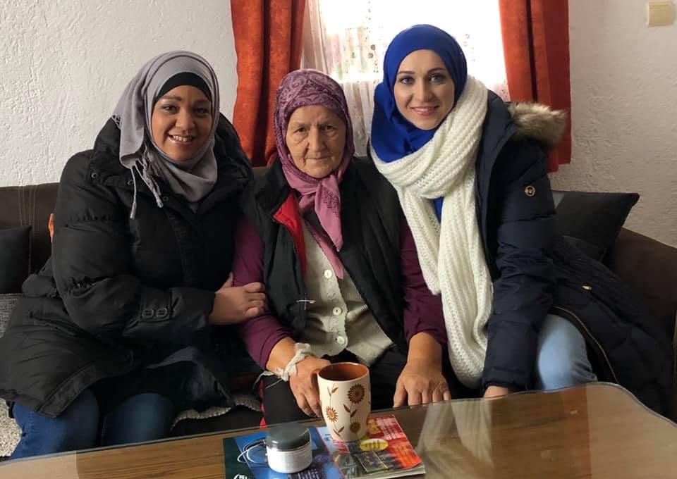 Visiting 4 senior citizen Ladys   SEE MORE
