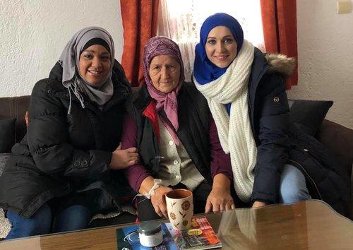 Visiting 4 senior citizens     See More