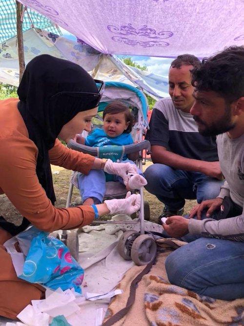Refugee Camp in Velika Kladusa    See More