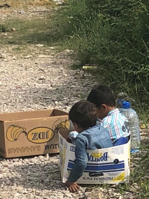 Refugee Camp in Mostar    See More