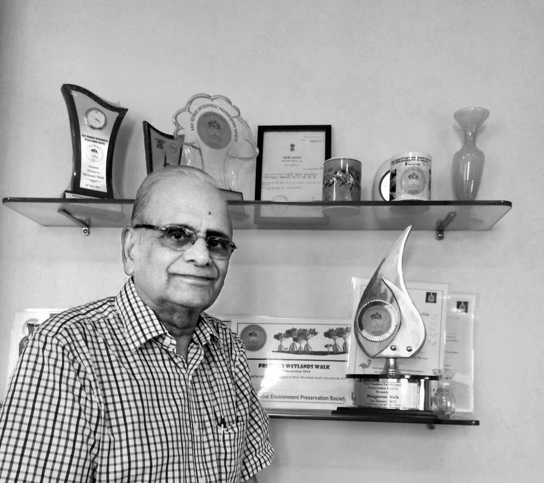 VINOD PUNSHI, President, Navi Mumbai Environment Preservation Society.