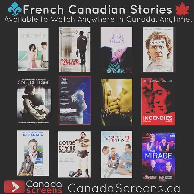 Happy Friday! @anitaadams604 & I are pretty excited to share the news of the project our First Weekend Club team has been working on ! We've just launched a French Canadian Film Channel on our CanadaScreens.ca VOD! READ the article in the The @georgiastraight on our CanadaScreens FB Page (Thanks Craig Takeuchi!) And check out the #CdnFilm gems at CanadaScreens.ca!