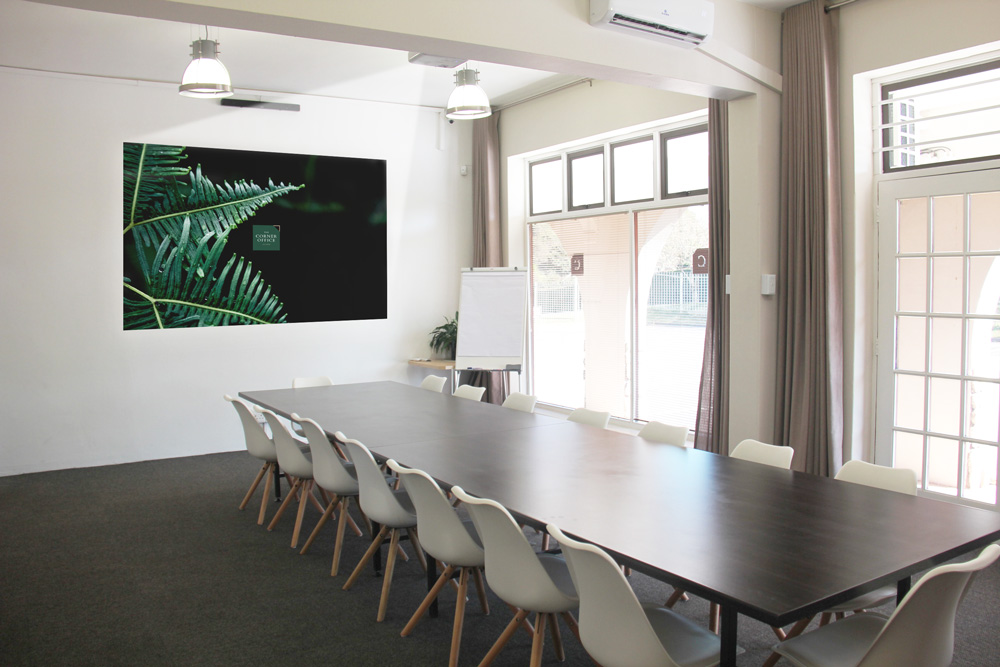 event space - boardroom style