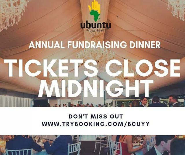 LAST CHANCE TO BUY TICKETS! With your support, we can make a difference through our projects across the globe 🌍❤ #rubencentre #COSAN #globalhealth
