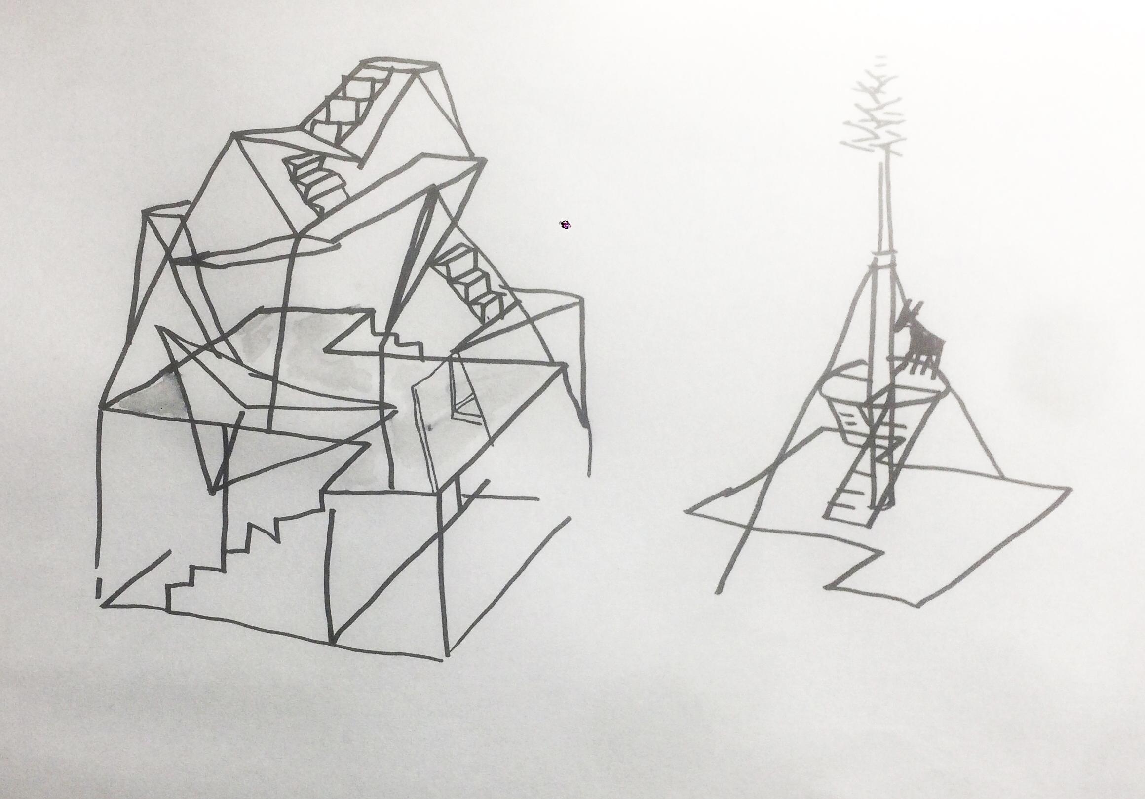 sketch by Fernando Garcia-Dory