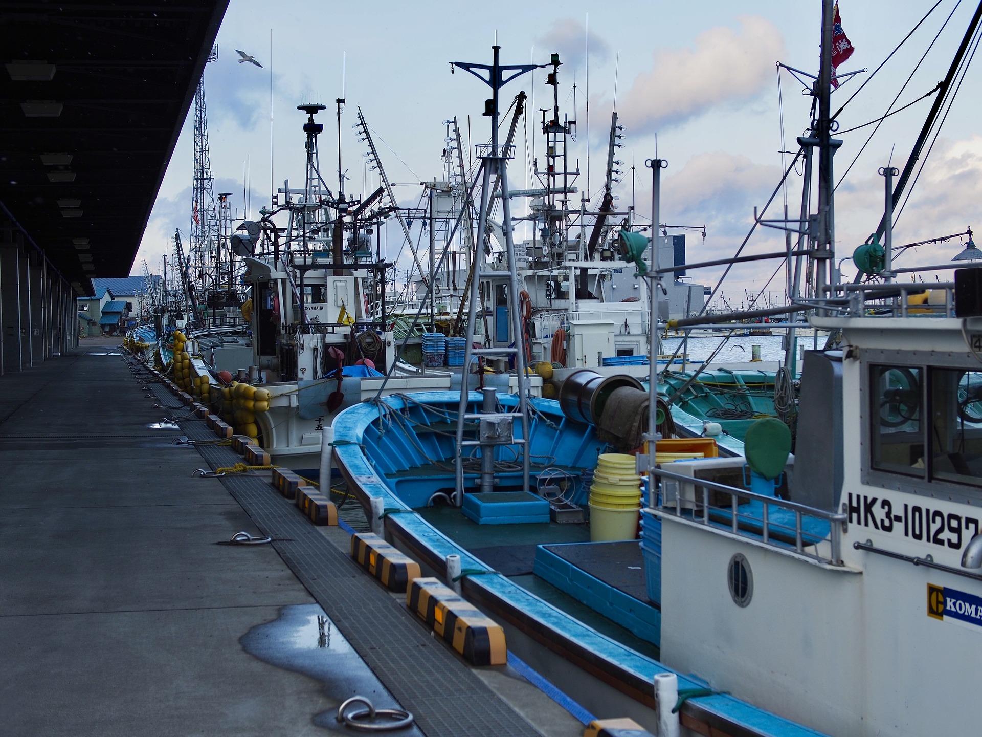 FISHING PORT, HOKKAIDO, NORTH JAPAN