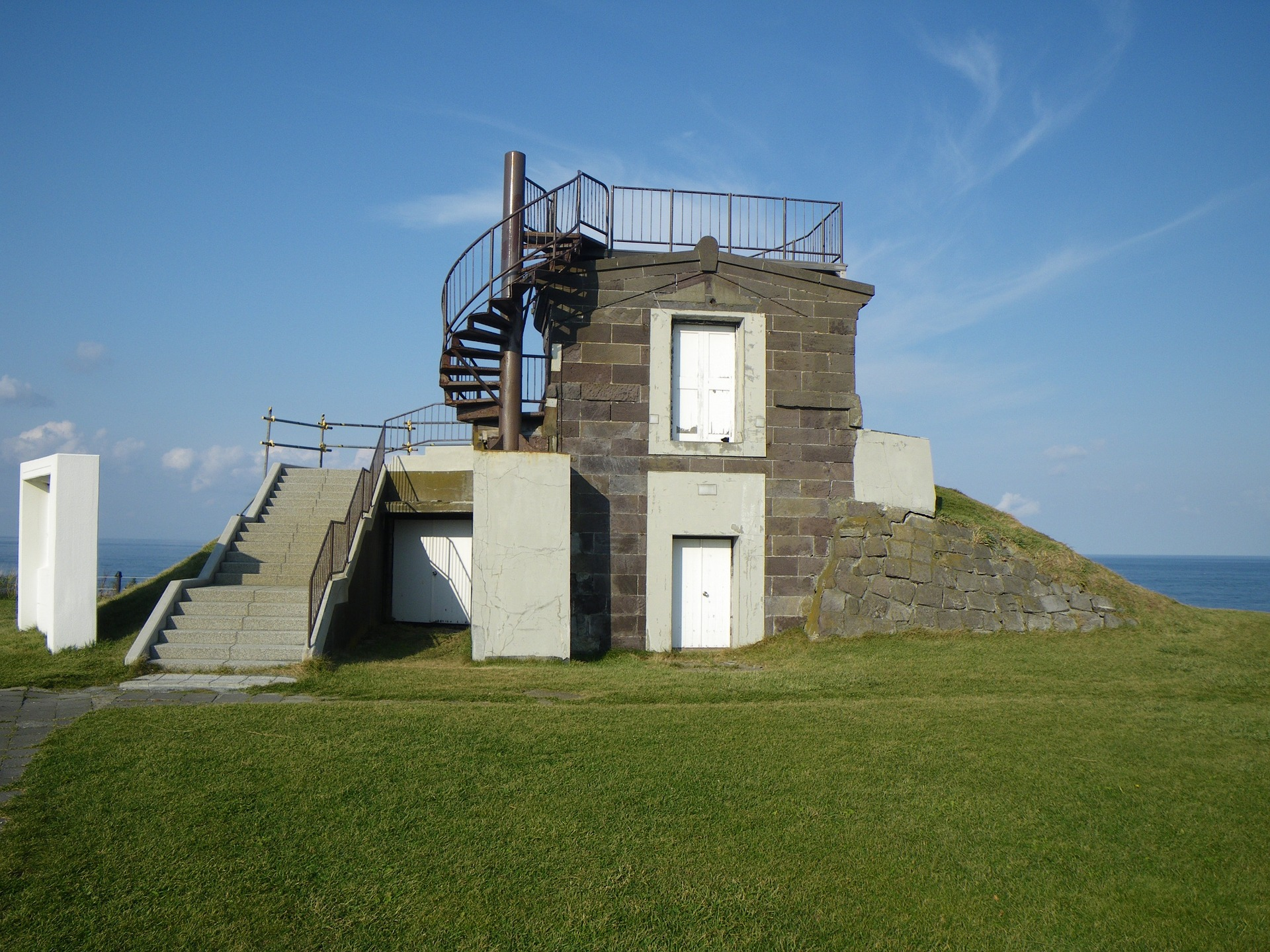 cape soya naval watch tower