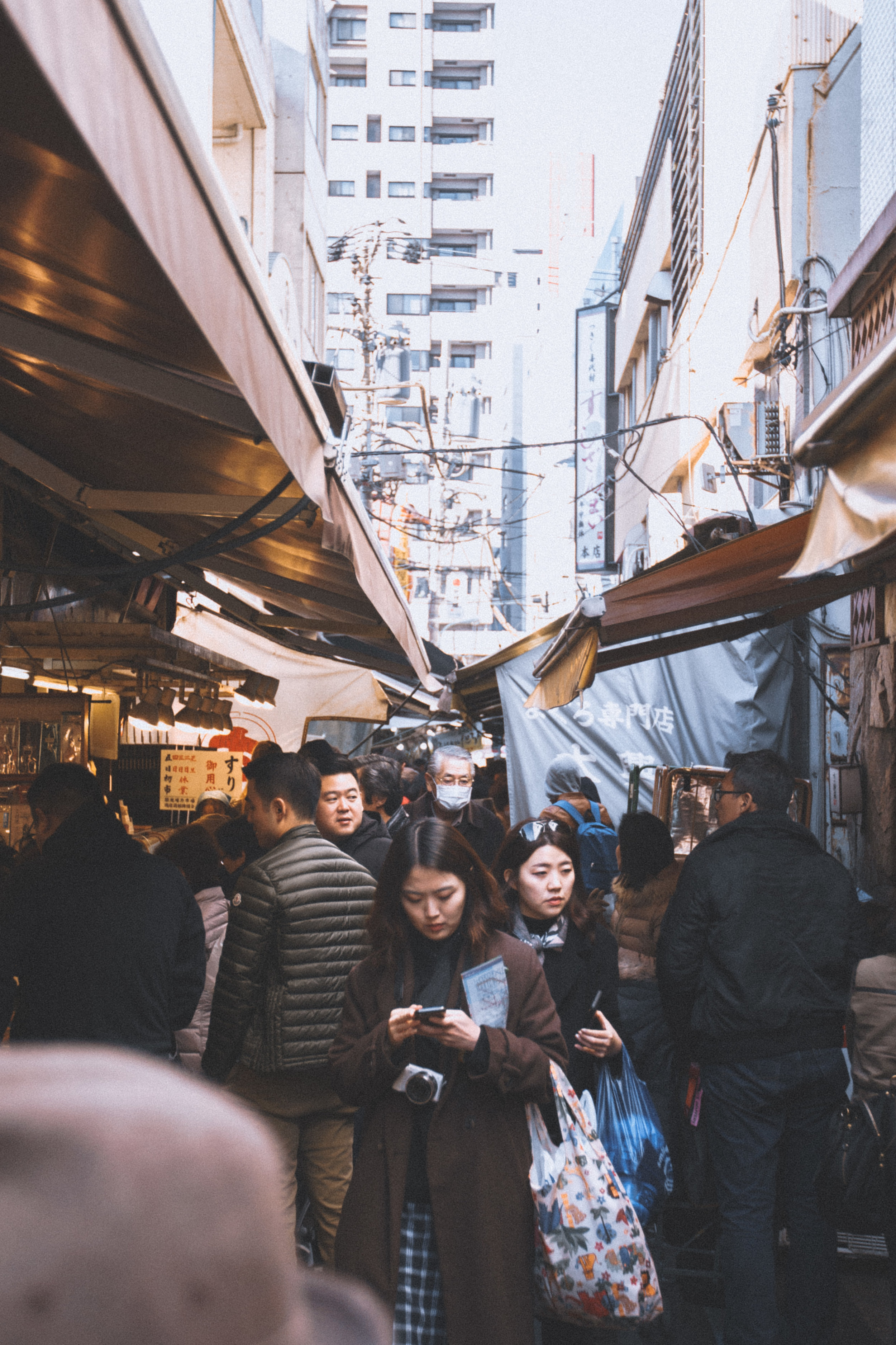 Tsukiji Market - One one the most interesting places to eat in Tokyo, Tsukiji is a fascinating collection of hawker market items, with everything from dried fish to kitchen utensils. There are plenty of stalls to savour some of Tokyo's finest street food…definitely worth a visit