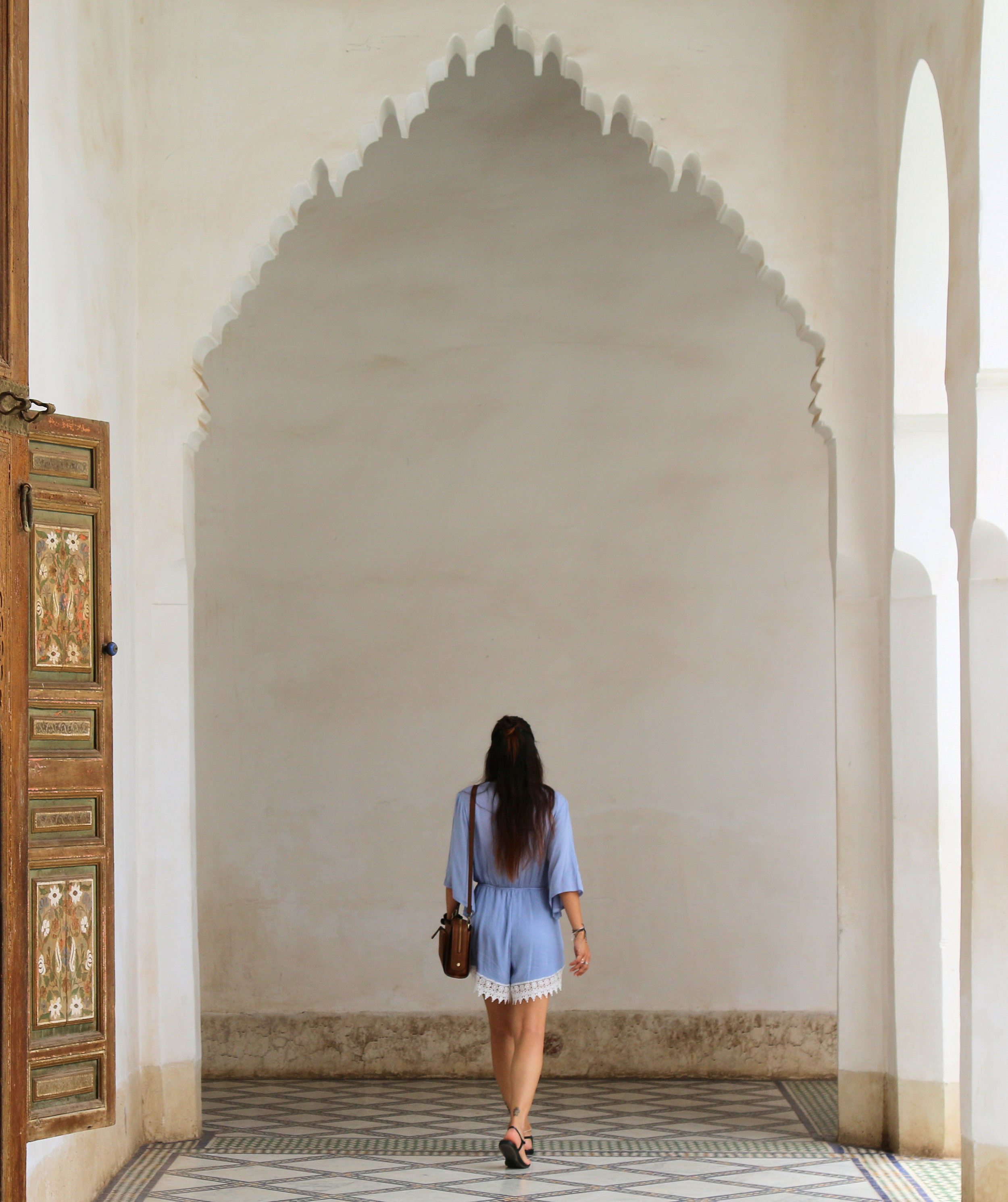 exploring marrakech - bahia palace