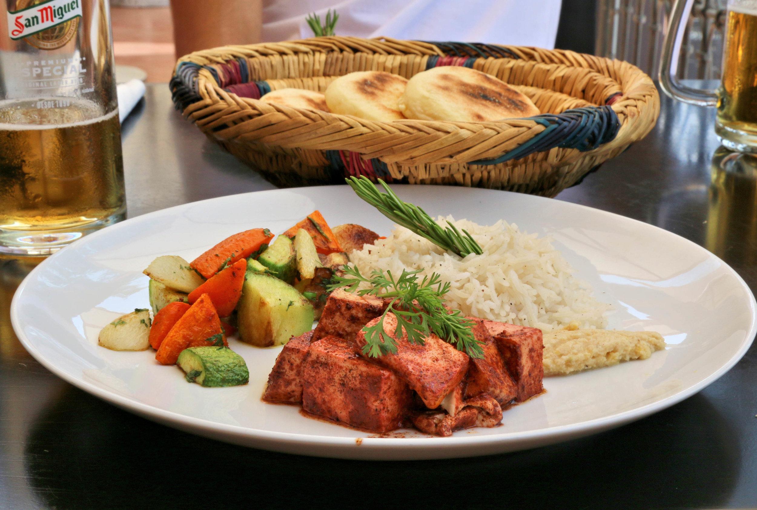 kozybar vegan food marrakech