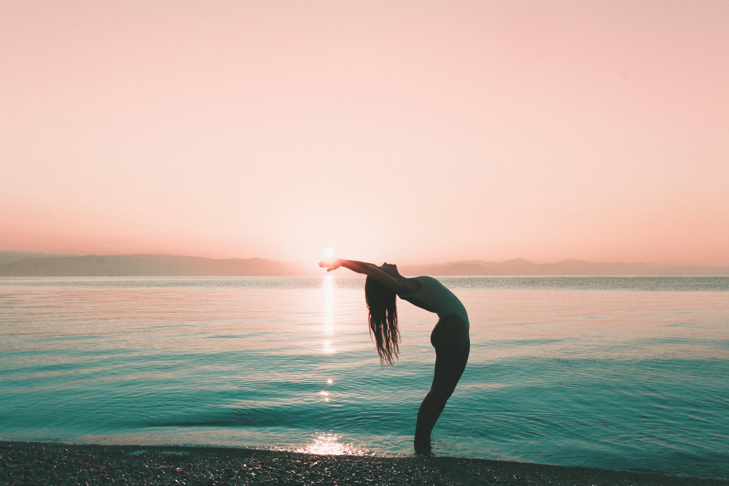 yoga sunshine morning routine